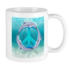 Dolphin Peace Mugs