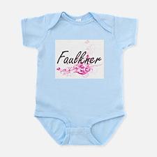 Faulkner surname artistic design with Fl Body Suit