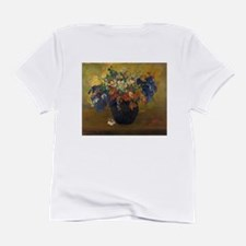 A Vase of Flowers by Gauguin Infant T-Shirt