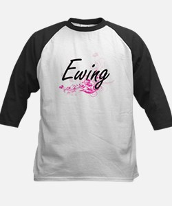 Ewing surname artistic design with Baseball Jersey