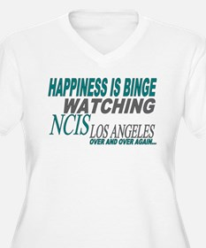 Happiness is Watching NCIS LA Plus Size T-Shirt
