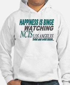 Happiness is Watching NCIS LA Hoodie