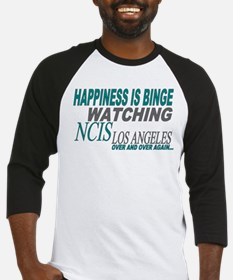 Happiness is Watching NCIS LA Baseball Jersey