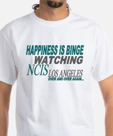 Happiness is Watching NCIS LA T-Shirt