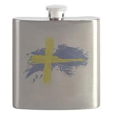 Sweden Flag Stockholm Flask