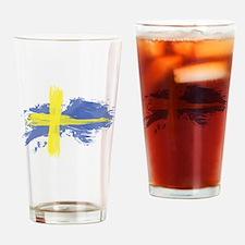 Sweden Flag Stockholm Drinking Glass