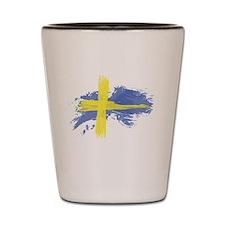 Sweden Flag Stockholm Shot Glass