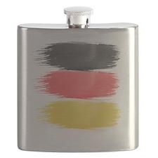 Germany Flag paint-brush Flask