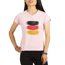Germany Flag paint-brush Performance Dry T-Shirt
