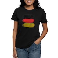 Germany Flag paint-brush Tee