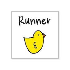 "Cool Chicks Square Sticker 3"" x 3"""