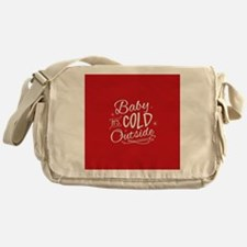 Baby It's Cold Outside [red] Messenger Bag