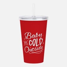 Baby It's Cold Outside [red] Acrylic Double-wall T