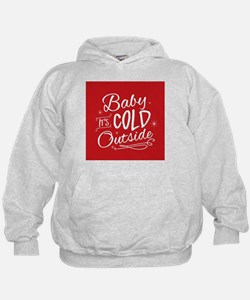 Baby It's Cold Outside [red] Hoodie