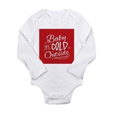 Baby It's Cold Outside [red] Body Suit