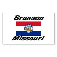 Branson Missouri Rectangle Decal