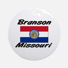 Branson Missouri Ornament (Round)