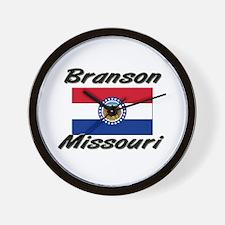 Branson Missouri Wall Clock