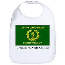 Greensboro NC Flag Bib