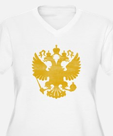 Russian Two-Headed Eagle Plus Size T-Shirt