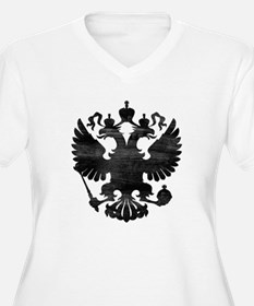 Russian Eagle Plus Size T-Shirt