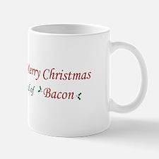 Christmas Bacon Mug