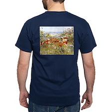 Celia Thaxter's Garden by Hassam T-Shirt