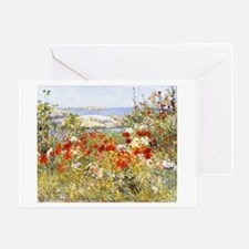 Celia Thaxter's Garden by Hassam Greeting Card