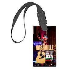 Nashville Music City-05 Luggage Tag