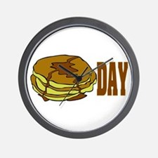 pancakeday.png Wall Clock