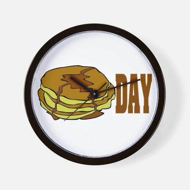 pancakeday.png Wall Clock