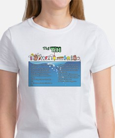 The Ten Fishmandments T-Shirt