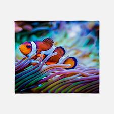 Clownfish Throw Blanket