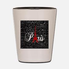 Paris X Shot Glass