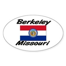 Berkeley Missouri Oval Decal