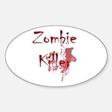 blood splatter zombie killer Decal