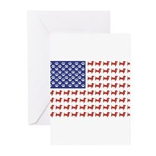 Unique Americana Greeting Cards (Pk of 10)