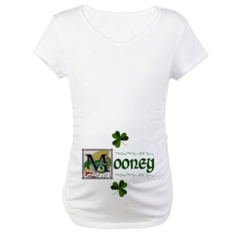Mooney Celtic Dragon Maternity T-Shirt