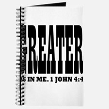 Greater is in me! 1 John 4:4 Journal