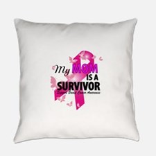 my mom is a survivor Everyday Pillow