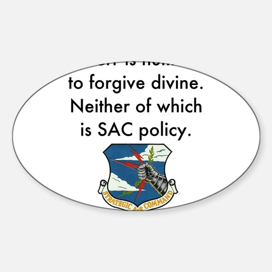 SAC Policy Decal