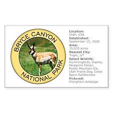 Bryce Canyon NP (Pronghorn Antelope) Decal