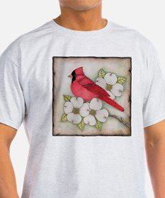 Cute Cardinal bird T-Shirt