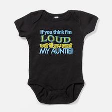 Cute Funny aunt Baby Bodysuit