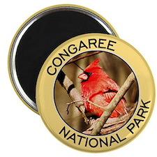 Congaree NP (Cardinal) Magnet
