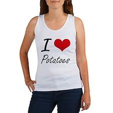 I Love Potatoes Tank Top
