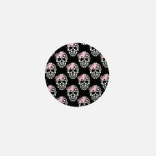 DIAMOND DIVA SKULLS Mini Button