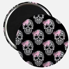 DIAMOND DIVA SKULLS Magnet