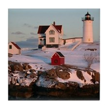 Nubble Light Tile Coaster