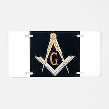Masonic symbol Aluminum License Plate